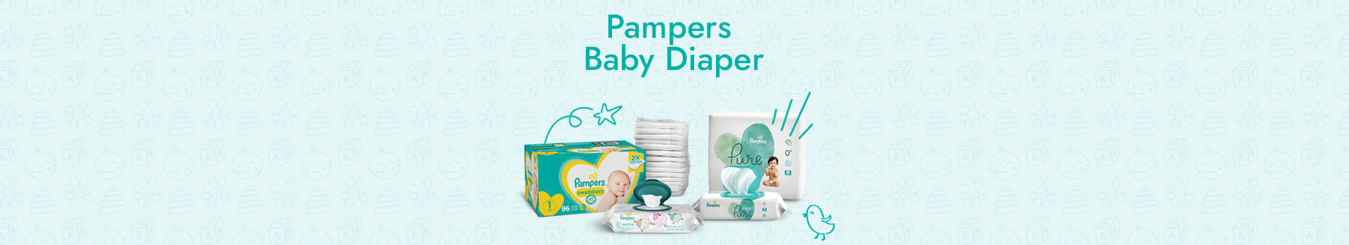 Pampers  Baby Diaper